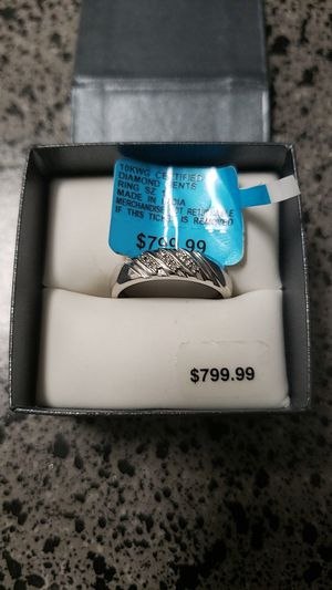 10KGW Certified Diamond Gents Ring for Sale in Denver, CO