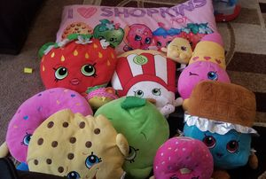Shopkins pillows. for Sale in Houston, TX