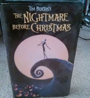 Disney The Nightmare Before Christmas VHS for Sale in Fresno, CA