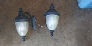 Outdoor wall mount lighting for Sale in Tyler, TX