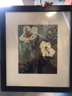 2 floral pictures for Sale in Renton, WA