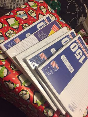 Notebook paper for Sale in Kinston, NC