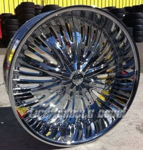 """24"""" Red Sport 66 chrome rims for Sale in Whitehall, OH"""