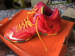Fruity pebbles lebrons for Sale in Philadelphia, PA