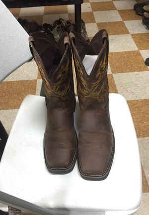 Justin work boots still toe size10 1/2 for Sale in Pasadena, TX