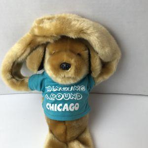Vintage Chicago Long Leg Dog Hanging Plush Golden Retriever Stuffed Animal for Sale in Avon Lake, OH