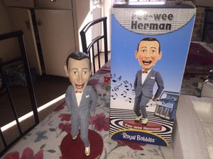 Royal Bobbles Pee-wee Herman Bobblehead for Sale in Norwalk, CA