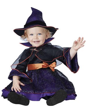 Baby Infant Girls Hocus Pocus Witch Halloween Costume 12-18 Months New for Sale in Las Vegas, NV