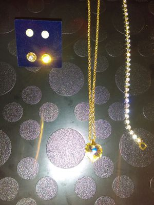 Crystal jewelry set for Sale in Las Vegas, NV