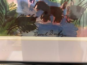 Raoul Dufy signed picture for Sale in Scituate, MA