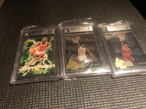 3 card Michael Jordan lot card 🔥 . for Sale in Manvel, TX