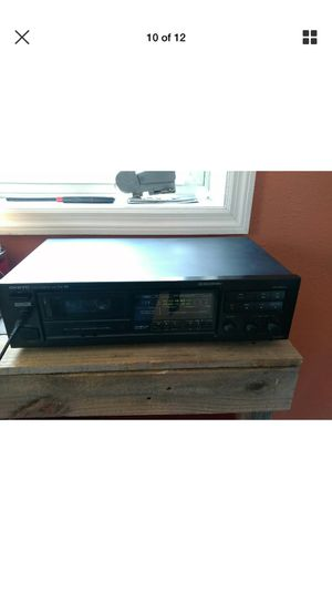 Vintage onkyo TA-2000 stereo cosset deck recorder/ player he pro Dolby for Sale in Salt Lake City, UT