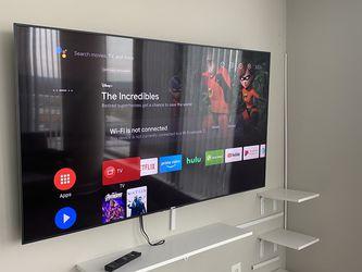 """65"""" Sony Bravia 4K Smart TV for Sale in Arlington,  VA"""