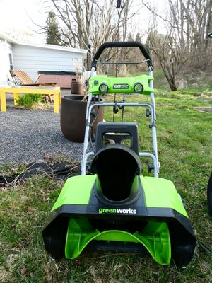 Greenworks electric snowblower for Sale in Ithaca, NY