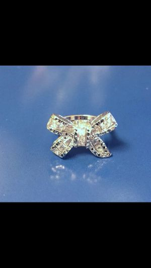 Sterling silver bow ring for Sale in Saint Cloud, FL