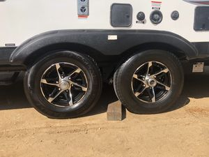 Trailer wheels and tires 6 lug 6x5.5 for Sale in Riverside, CA