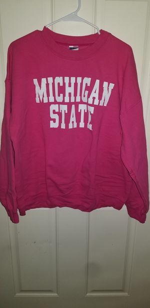 Michigan State Woman's Size X-LARGE Sweatshirt almost New for Sale in Taylor, MI