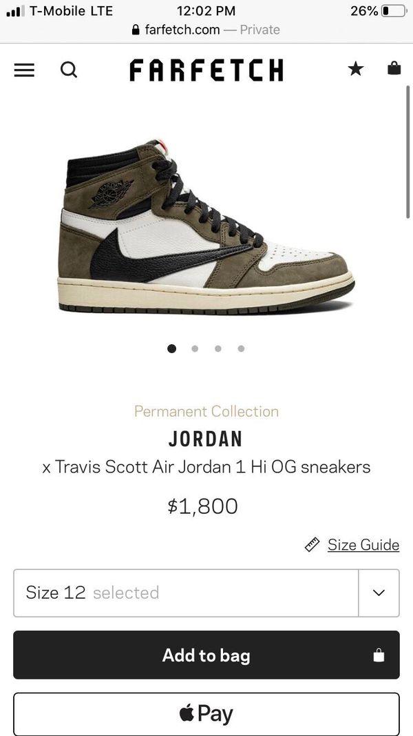 *new* travis scott x jordan 1