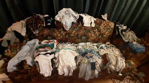 Baby Boy Clothes Galore! 0-3 months for Sale in Lombard, IL
