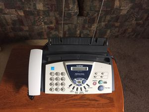 Brother 575 personal fax machine used in good condition with phone and copy capability. Asking $50 for Sale in Columbus, OH
