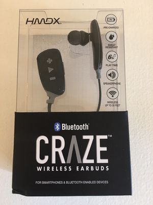 HDMX CRAZE WIRELESS BLUETOOTH EARBUDS for Sale in Mount Prospect, IL