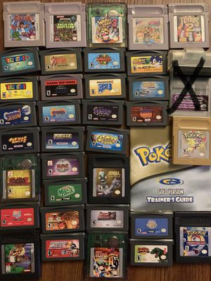 Gameboy color and advance games for Sale in Tampa, FL
