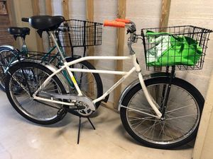 Worksman Front basket INB bicycle bike carry load rack grocery getter heavy duty industrial for Sale in San Diego, CA