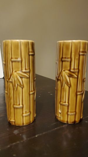 Bamboo Design Vases for Sale in Joliet, IL