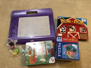 Drawing pad Games and Puzzles Book for Sale in Kirkland, WA