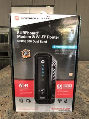 Surfboard Modem & Router ( New open box) for Sale in Scottsdale, AZ