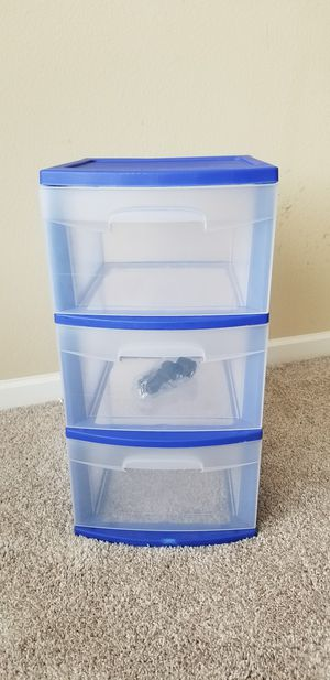 Plastic Drawer Storage Cart for Sale in Richardson, TX