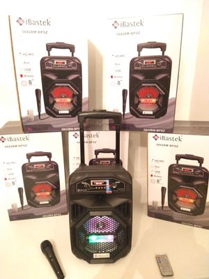 SPEAKER WIRELESS RECHARGEABLE 🔋 PORTABLE LOUD SOUND for Sale in Rialto, CA