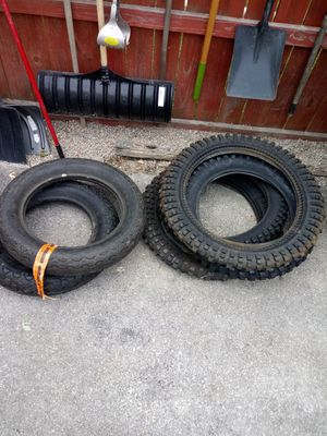 Motorcycle and dirt bike tires brand new make offer for Sale in Columbus, OH