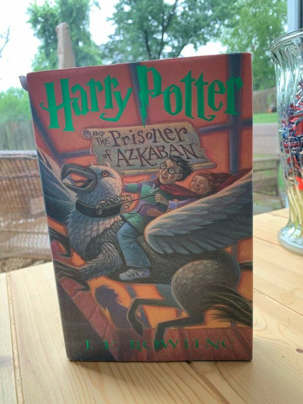 Harry Potter And The Prisoner Of Azkaban Book 3 - Hard Cover - First Edition