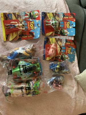 8 piece Toy Story Collectible Lot for Sale in Orlando, FL