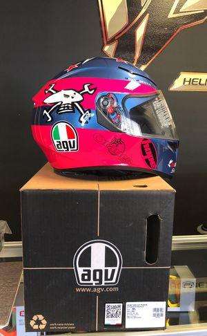 Agv k3sv Guy Martin Sz ML motorcycle helmet for Sale in Orlando, FL