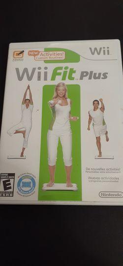 Wii FIT PLUS (Nintendo Wii + Wii U ) for Sale in Lewisville,  TX