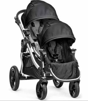 Baby jogger city select double stroller for Sale in Palm Springs, FL