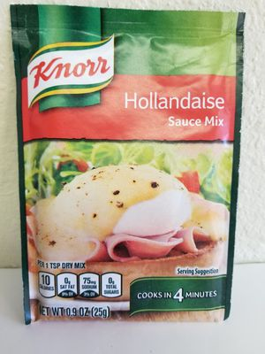 Knorr Hollandaise Sauce Mix 0.9 oz each 12 Packets for Sale in Houston, TX