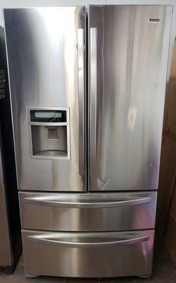 Kenmore 4 Door Stainless Steel Refrigerador!! for Sale in Phoenix,  AZ