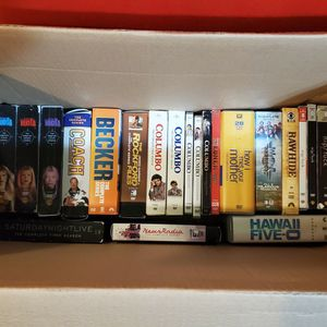 TV Series DVD Lot, Lots Of Classics. Some Rare. Over 110 Boxes Of Dvds for Sale in Portland, OR