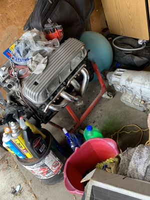 Chevy 454 with 400 turbo tranny both rebuilt with HP parts for Sale in Sacramento, CA