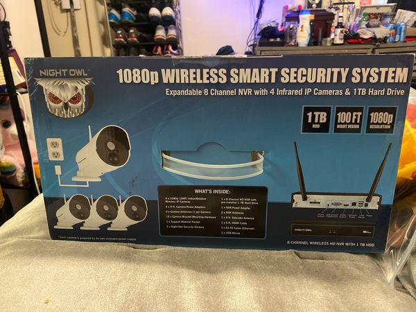 Night Owl 1080p WIRELESS SMART SECURITY SYSTEM