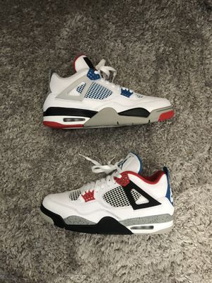 JORDAN 4 RETRO WHAT THE for Sale in Modesto, CA
