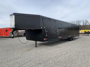 2020 8.5 X 34 TRAILS WEST GOOSENECK ENCLOSED SNOWMOBILE TRAILER for Sale in North Jackson, OH