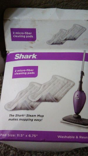 2 shark micro fiber cleaning pads for Sale in Marysville, CA