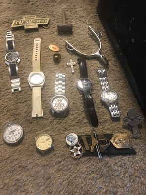 Old watches and misc. for Sale in Sacramento, CA