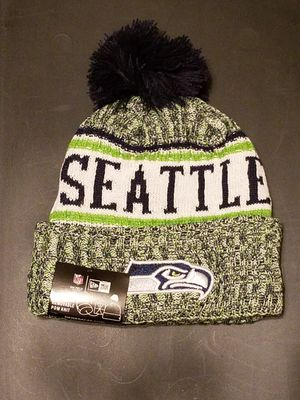 SEATTLE SEAHAWKS NFL NEW ERA BEANIE HAT *BRAND NEW WITH TAGS🔥 for Sale in Manassas, VA