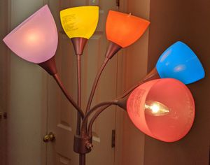 5-ARM MULTI-COLOR 67 INCH FLOOR LAMP for Sale in Stafford, VA