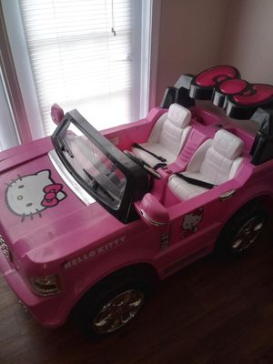 A Hello Kitty Jeep for a little girl!! for Sale in Fort Worth, TX